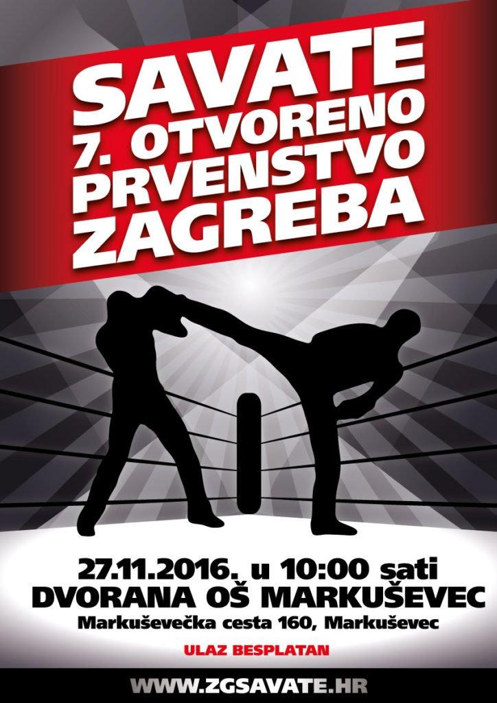 7. SAVATE OTVORENO PRVENSTVO ZAGREBA 2016.